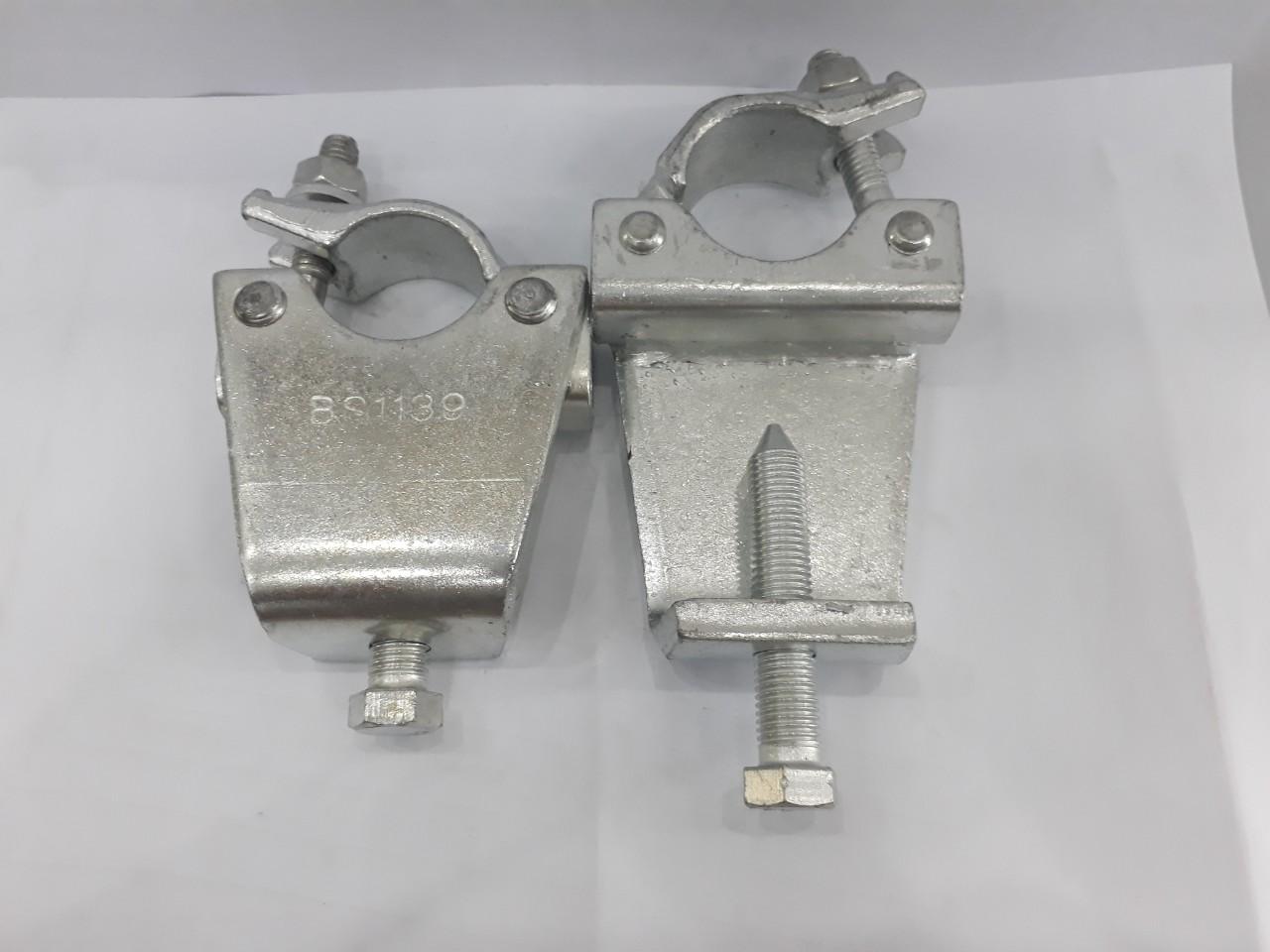 Kẹp dầm BS1139, Kẹp má BS1139, Ø 48.3mm độ mở 75-80mm